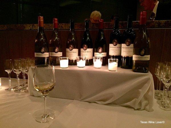 Pheasant Ridge wines
