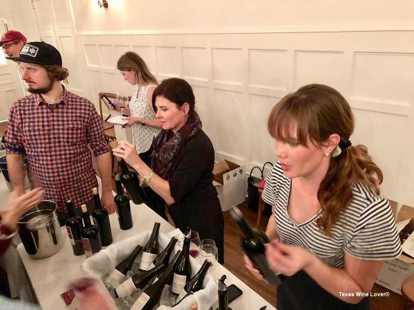 Texas Wine Growers Calais booth