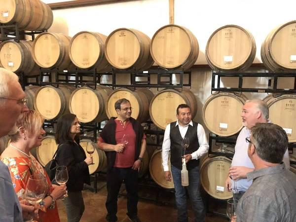 Tour of Los Pinos Ranch Vineyards