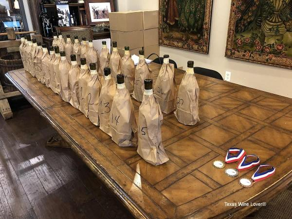 Sangiovese bagged wines