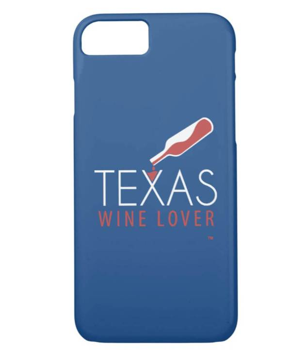 Texas Wine Lover iPhone 8/7 Case back