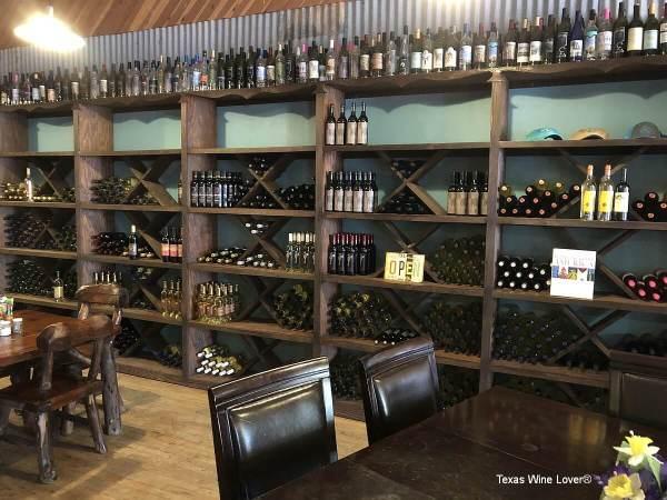 Triple D wine selection