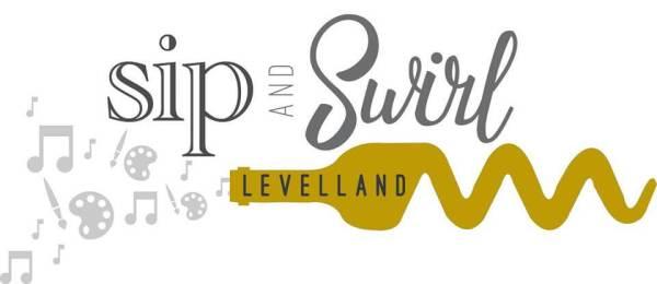 Sip and Swirl Levelland logo