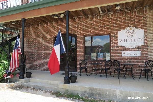 Whitley Vineyards outside