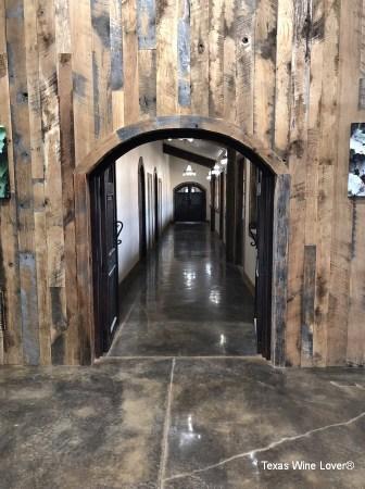Bingham Family Vineyards - Fredericksburg hallway