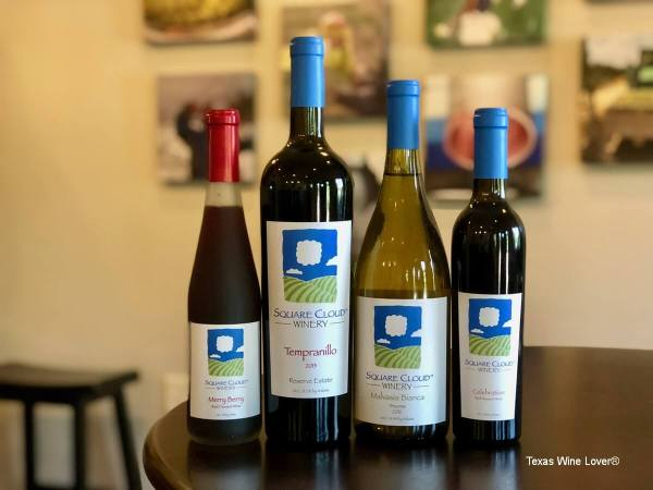 Square Cloud Winery wines