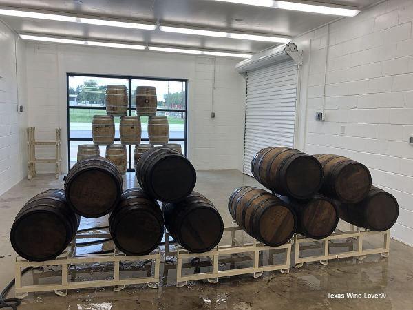 Cicada Cellars barrels