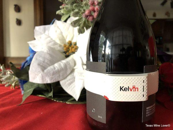 Kelvin K2 on a big bottle