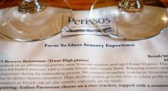 Perissos Farm to Glass Experience