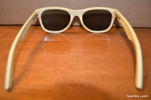 Vineyard Sun sunglasses inside view