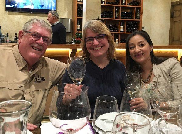 Vino Andreucci - Carl Hudson, Laurie Ware, and Elizabeth Rodriguez