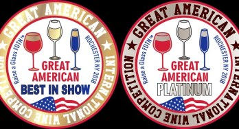 Great American International Wine Competition Award Logos