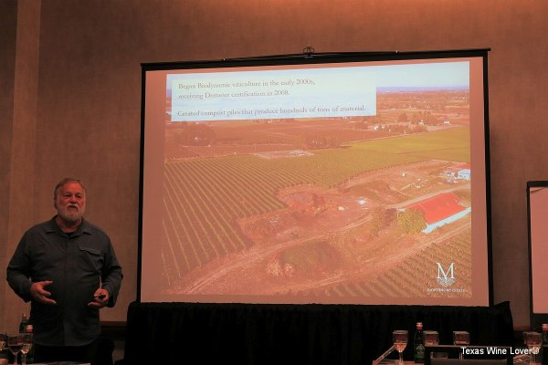 Rudy Marchesi of Montinore Estate - biodynamic