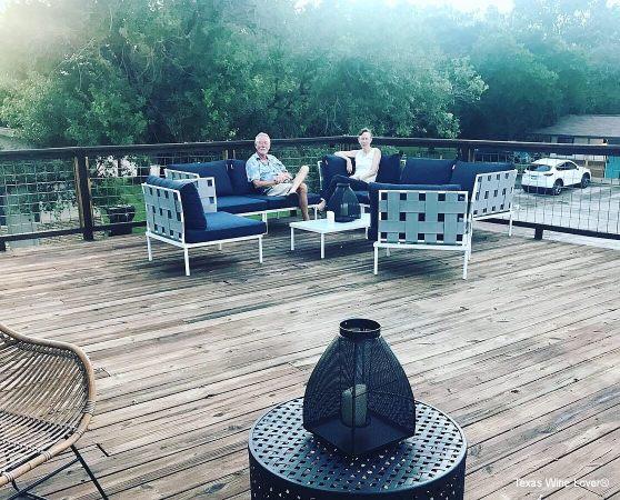 Stonewall Motor Lodge deck