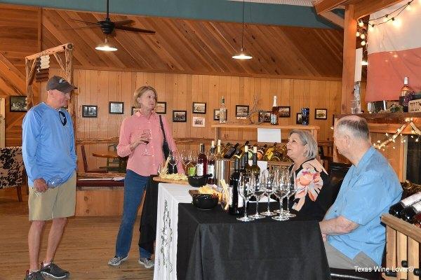 Tasting at William-Hart Wines