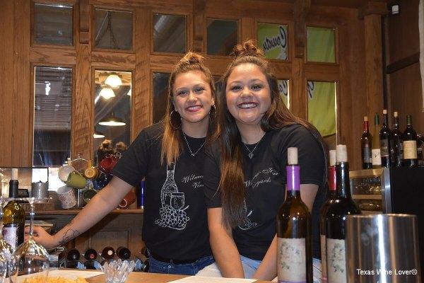 Trish and CJ Arguellez, regular pourers at The Triple D