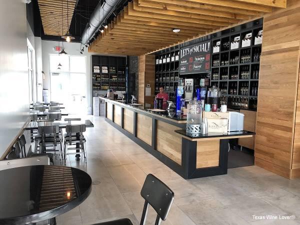 Landon Winery at The Sound tasting room