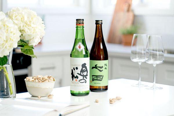 Tippsy Sake with wine glasses