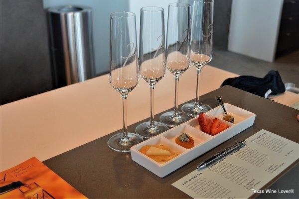 Heath Sparkling Wines food pairing