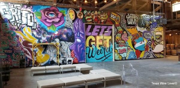 Infinite Monkey Theorem graffiti walls