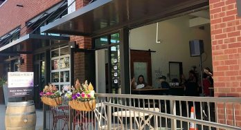 Eden Hill Winery at the Lofts outside