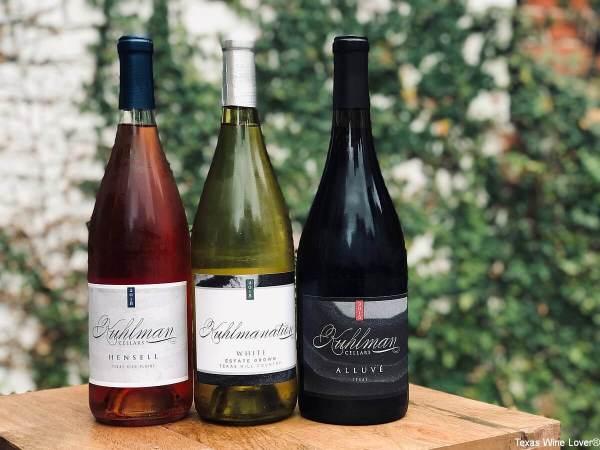 Kuhlman Cellars Thanksgiving wines