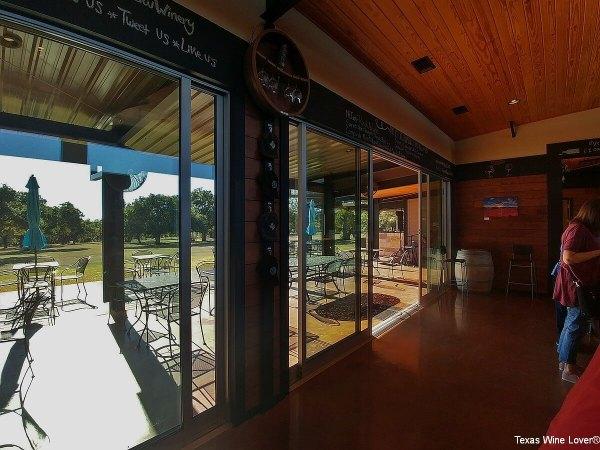 Hye Meadow Winery inside tasting room