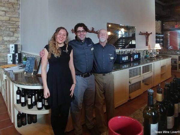 Wedding Oak Winery at Burnet employees