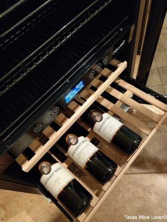 Newair AWB-400DB View Wine Shelves