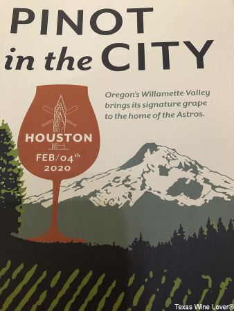 Pinot in the City sign