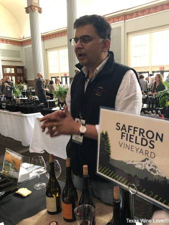 Sanjeev Lahoti of Saffron Fields Vineyard