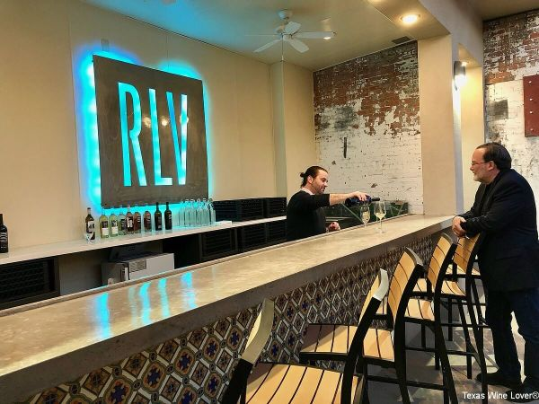 RLV Fort Worth tasting bar