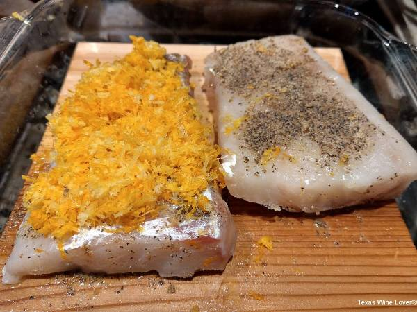 Fish on on the plank