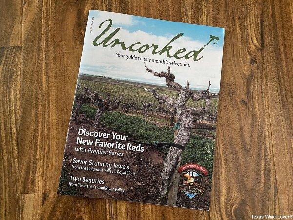 Uncorked magazine