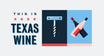 This is Texas Wine logo