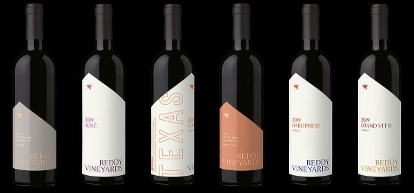 Reddy Vineyards 2019 wines