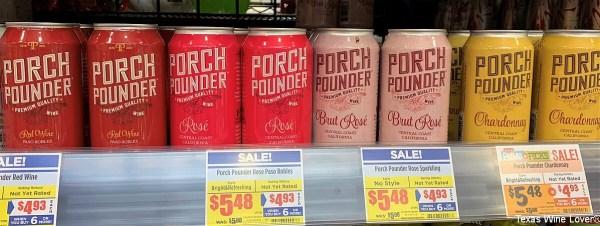 Porch Pounder at H-E-B