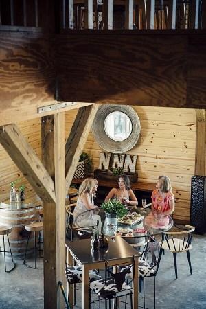 Triple N Winery inside tasting room