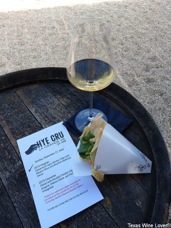 French Connection Wines tasting card