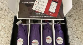 Palate Club wines in box