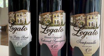 Texas Legato wines