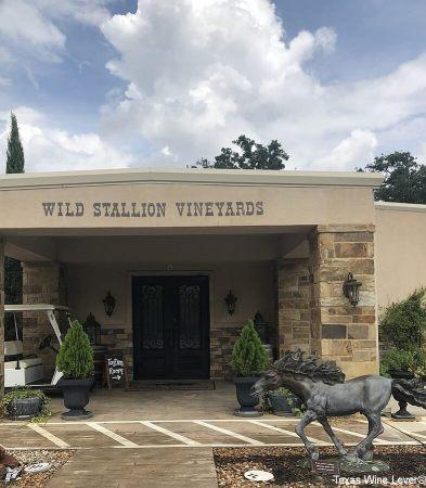 Wild Stallion Vineyards tasting room