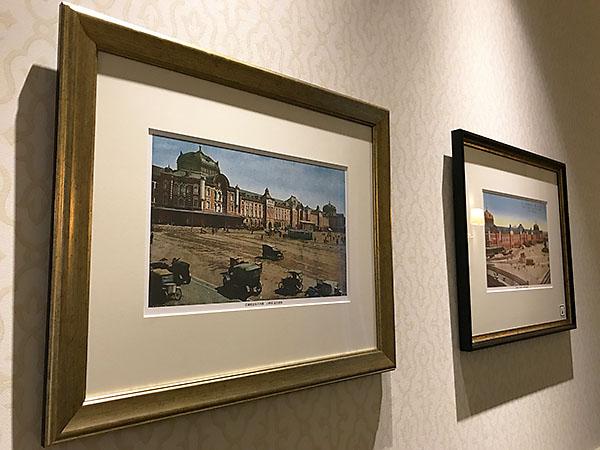 ホテル内にはこのような写真や絵画が多数飾られています。できればホテルの人と一緒に回って一つ一つ説明をしてほしいと願うのはレッサーパンダの贅沢でしょうか。