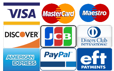 payment methods and credit card options