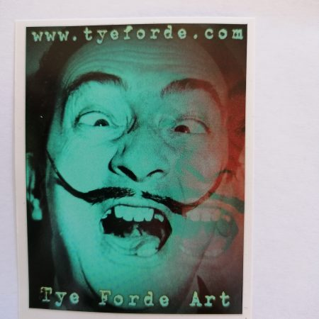 tye_forde_salvador_dali_streetart_sticker_bombing