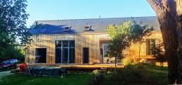 Maison paille en Finistère