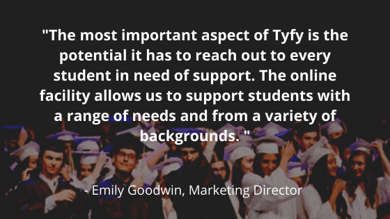 Tyfy conducts pilot project with The University of Huddersfield