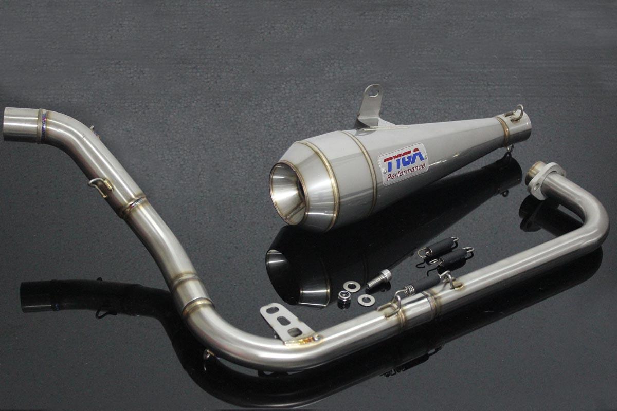 set full race system with moto maggot silencer honda msx125 grom