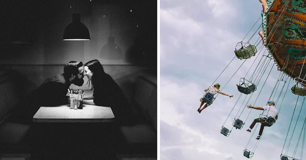 Фотографии влюбленных, рассказывающие о чувствах громче слов