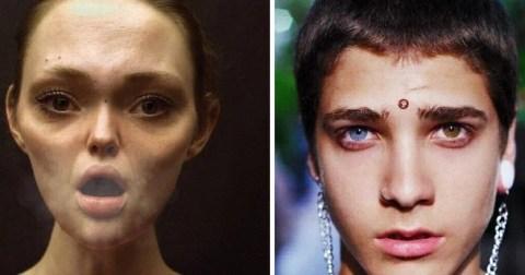 20 людей с нестандартной внешностью